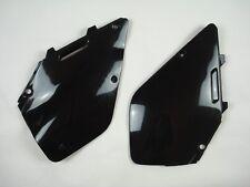 Suzuki RM250 RM125 1996-2000 UFO Side Panels Black 2959 001 Motocross