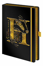 Harry Potter - Hufflepuff - Notizbuch A5, Notebook, Block - Größe 15x21 cm