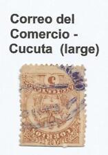 Timbres de l'Amérique latine marron