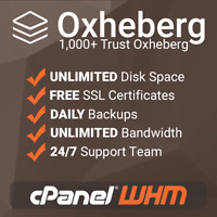 DirectAdmin based with free SSL/'s 1 Year Unlimited SSD Website Web Hosting