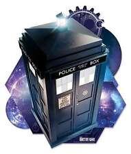 Il Tardis di Doctor Who parete 3D effetto Ufficiale Cartone Ritaglio