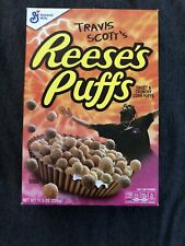 Travis Scott X Reeses Puffs, Limited Edition (OPEN BOX NO CEREAL) Collection