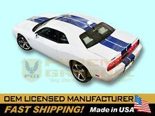 2008 2009 2010 2011 2012 2013 Dodge Challenger SRT8 Over Roof Decals Stripes Kit