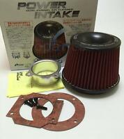 OEM Apexi Universal Power Intake Air Filter 75mm Dual Funnel Adapter sports CAR