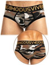 Men Designer Army Brown Classic Knickers Camouflage Underwear New Cotton Slip