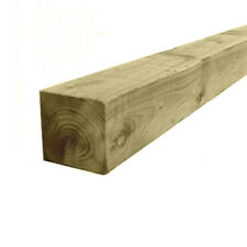 "3"" x 3""(75mm) Treated Timber Wooden Gate Fence Post 1.2m/1.8m/2.4m (4ft/6ft/8ft)"