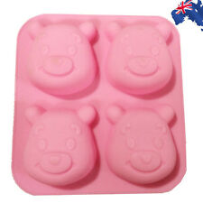 2x Silicone Baking Mould Mold Winnie Pooh Cake Chocolate Cookie HKIMO 6441 x2