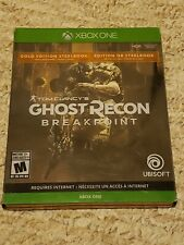 Tom Clancy's Ghost Recon Breakpoint (Gold Edition, Xbox One, Complete, & Tested)