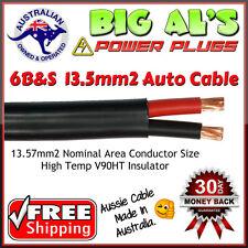 10 metre x 6 B&S 13.57mm2 Twin Core, Sheath Automotive Auto Dual Battery Cable