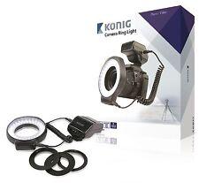 FARETTO VIDEO LED PER VIDEOCAMERA On-Camera 60 LED Camera Anello Leggero
