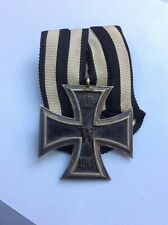 WW1 German IRON CROSS second class parade mounted medal 100% genuine medal