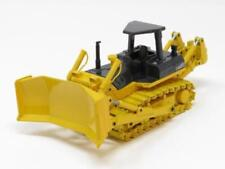 Machines de construction miniatures engins de chantier jaunes 1:50