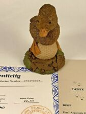 Duffy 1992 Tom Clark Signed Gnome Figurine 9031 Coa & Story 25