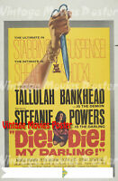 Die! Die! My Darling! 1965 Repro Reproduction Print Thrillers