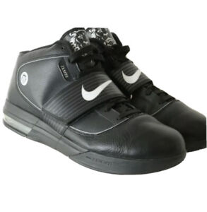 Nike Zoom Soldier IV Lebron James 407630-001 Black Witness High Top Men's US 13