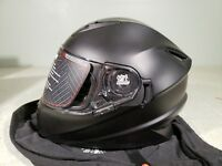 Speed & Strength Helmet SS1600 Solid Speed Matte Black XXLarge TR#871438