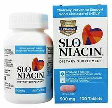SLO-NIACIN ER 500MG   100 TABLETS