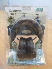 """MSA Sordin Supreme Pro X Ear Muffs """" CAMO """" Made in Sweden"""