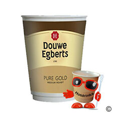 More details for box of 150 (15 x 10) douwe egberts coffee, 2go, in cup drinks, 12oz, foil sealed