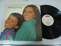 """Antonio y Carmen Durcal Entre Cocodrilos WEA 1983 - LP Vinilo 12"""" G+/VG 2T"""