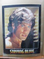 Vintage Poster Staying alive movie Travolta movie 1983 Inv#386