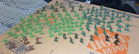 Large Lot of Assorted Plastic Toy Soldiers/Army/Military Men TimMee ETC