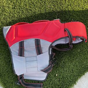 Arcadia Trail Dog Life Jacket RED Floating Safety Vest Water Size XL