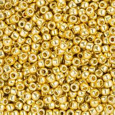 Toho Seed Beads Size 6/0 (4mm) PermaFinish Galvanized Starlight - 11.5g (L93/4)