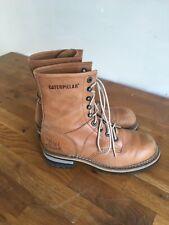 Caterpillar Women's leather brown boots at size UK5 EU38