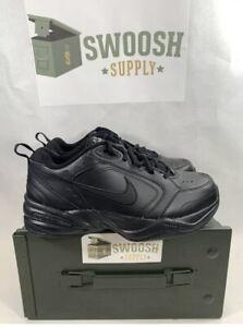 Nike Men's Air Monarch IV Black Training Shoes 416355-001 4E Extra Wide Sz 13