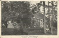 Storrs CT Infirmary Among the Pines c1920 Postcard