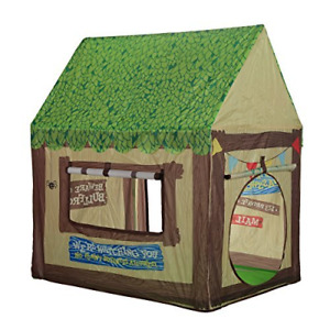 Kids Play Tent Children Playhouse - Indoor Outdoor Tent Model Clubhouse Green by