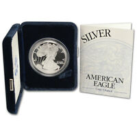2002-W American Silver Eagle Proof