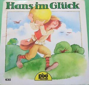 Altes Pixi Buch Nr. 630 - Hans im Glück - 2. Auflage 1993