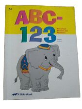 Abeka ABC-123 Preschool Phonics And Numbers