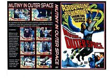 mutiny in outer space 1965. sci Fi Movie Film on DVD publick domain print