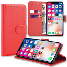 Case for Apple iPhone XS MAX 8 7 6S Plus Cover Real Genuine Leather Flip Wallet