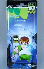 Ben10 Alien Force juego de naipes jogo de cartas, 33 cartas Memory naipes