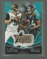 2015 ROOKIES & STARS EMBROIDERED PATCHES Insert # EP19 B BORTLES / T.J. YELDON