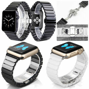 For iWatch Ceramic Strap 38-44mm Bracelet Band For Apple Watch Series 4321