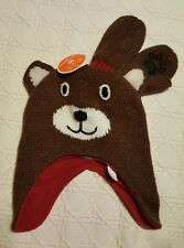 NWT Bear Lined Knit Hat and Mittens Size S 12-24 Mths The Children's Place