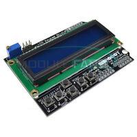 Expansion Board 1602 LCD Board Keypad Shield Blue Backlight For Arduino