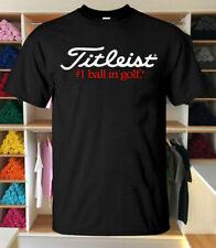 Hot Editions Titleist G0lf Logo Men's Clothing Fashion Short Sleev Size S-3XL