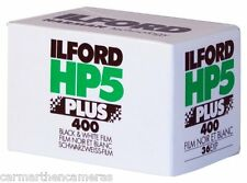 Ilford HP5 35mm Plus 400 ISO Black & White Camera film 36 exp. Pack of 1 B+W