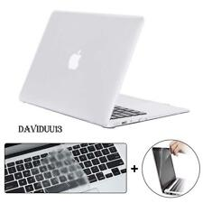 """Crystal Glossy Case + keyboard Cover + Screen Protector For MacBook 11/13/15"""""""