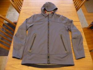 Under Armour Gore Windstopper Full Zip Combine Hoodie Jacket Size Men's Medium
