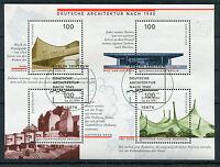 Bund Block 37 gestempelt Berlin ESST BRD 1906 - 1909 Ersttags Sonderstempel used
