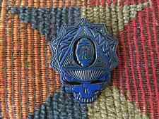 10 Pack Dead Head Blue Black Tone Sacred G Geometry Skull Enamel Hat Pin Lot