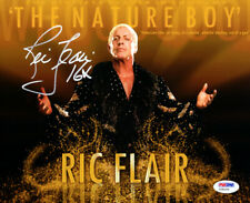 "RIC FLAIR AUTHENTIC AUTOGRAPHED SIGNED 8X10 PHOTO WWE ""16X"" PSA/DNA 86908"