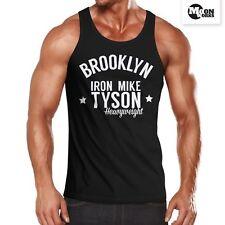 Herren Tanktop, Brooklyn New York Iron Mike Tyson Boxing Gym, Moonworks®